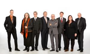 Plätze 1-8, von links nach rechts: Wolfgang Sacher, Dorle Niebling-Rössle, Reinhard Mende, Bertram Kölsch, Rüdiger Kammel, Armin Jabs, Ulrike Lüke, Manfred Reitmeier